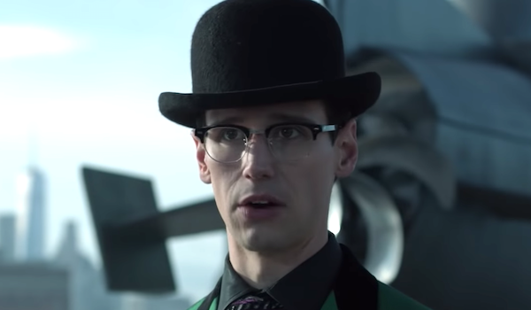 the riddler in bowler hat gotham