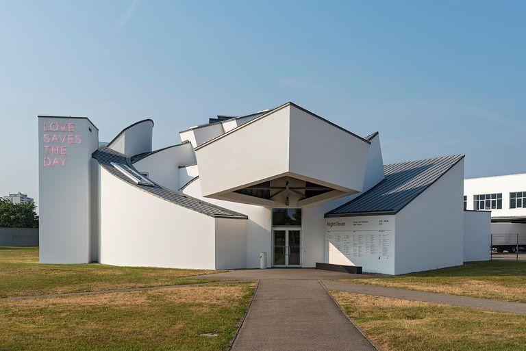 Vitra Design Musuem designed by Frank Gehry