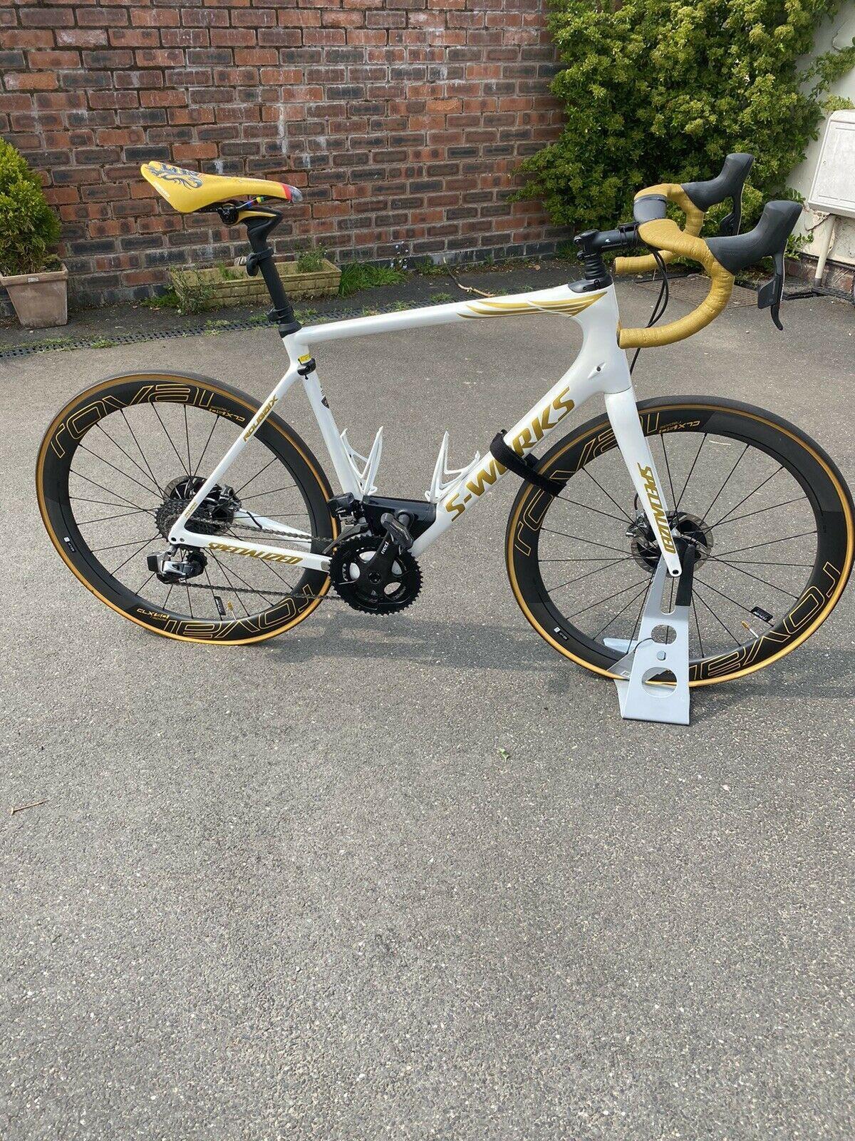Ebay Finds Tom Boonen Replica Specialized S Works Roubaix Cyclingnews
