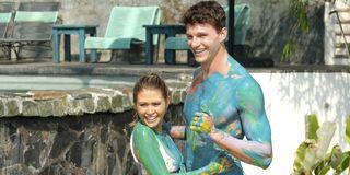 bachelor in paradise 2019 caelynn miller keyes connor saeli body paint abc