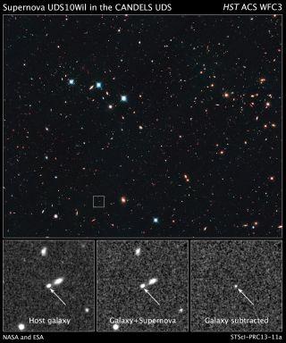 Hubble Supernova UDS10Wil