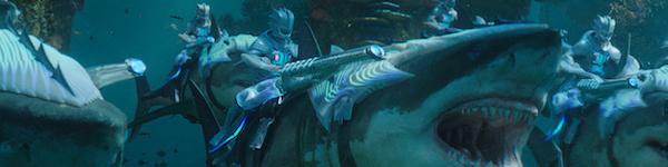 Aquaman shark warriors