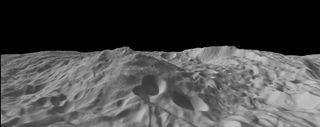 Vesta terrain art