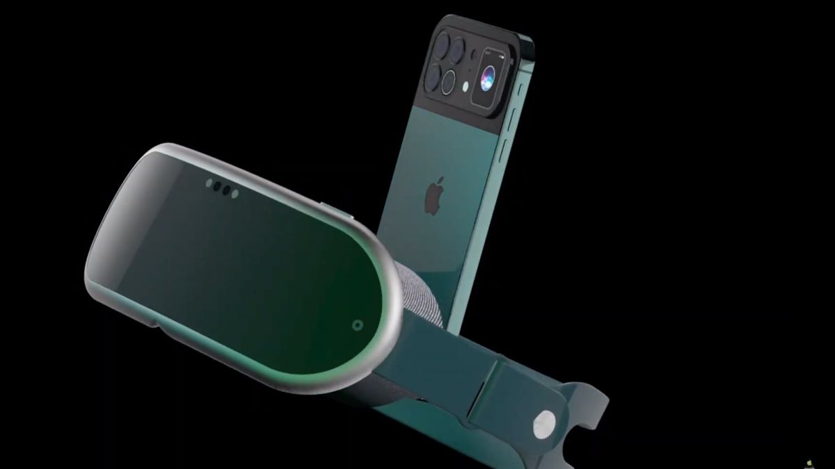 Stunning iPhone 13 concept shows off companion VR headset