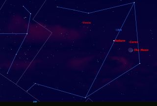 Libra Sky Map, Sept. 27, 2014