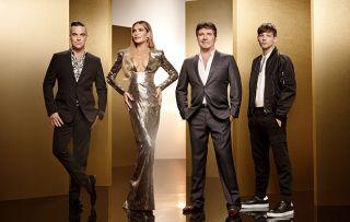 X Factor judges line-up