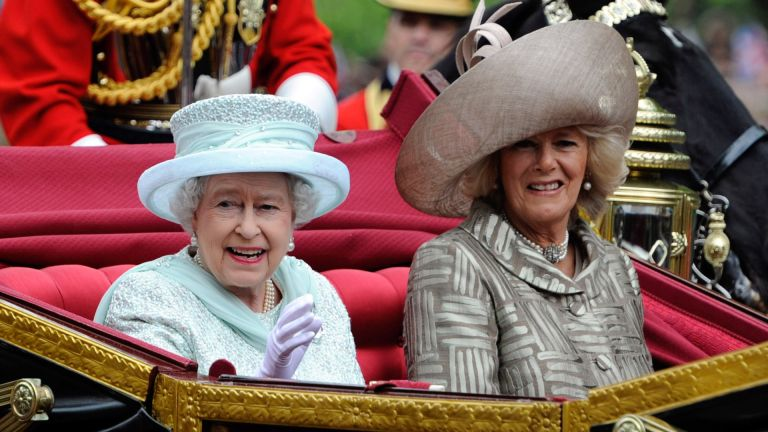Queen and Duchess of Cornwall