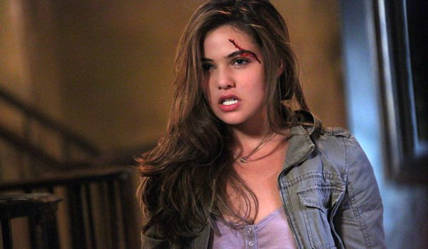 Danielle Campbell Davina Claire The Originals bloody injury forehead eye The CW