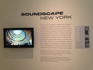 Soundscape New York