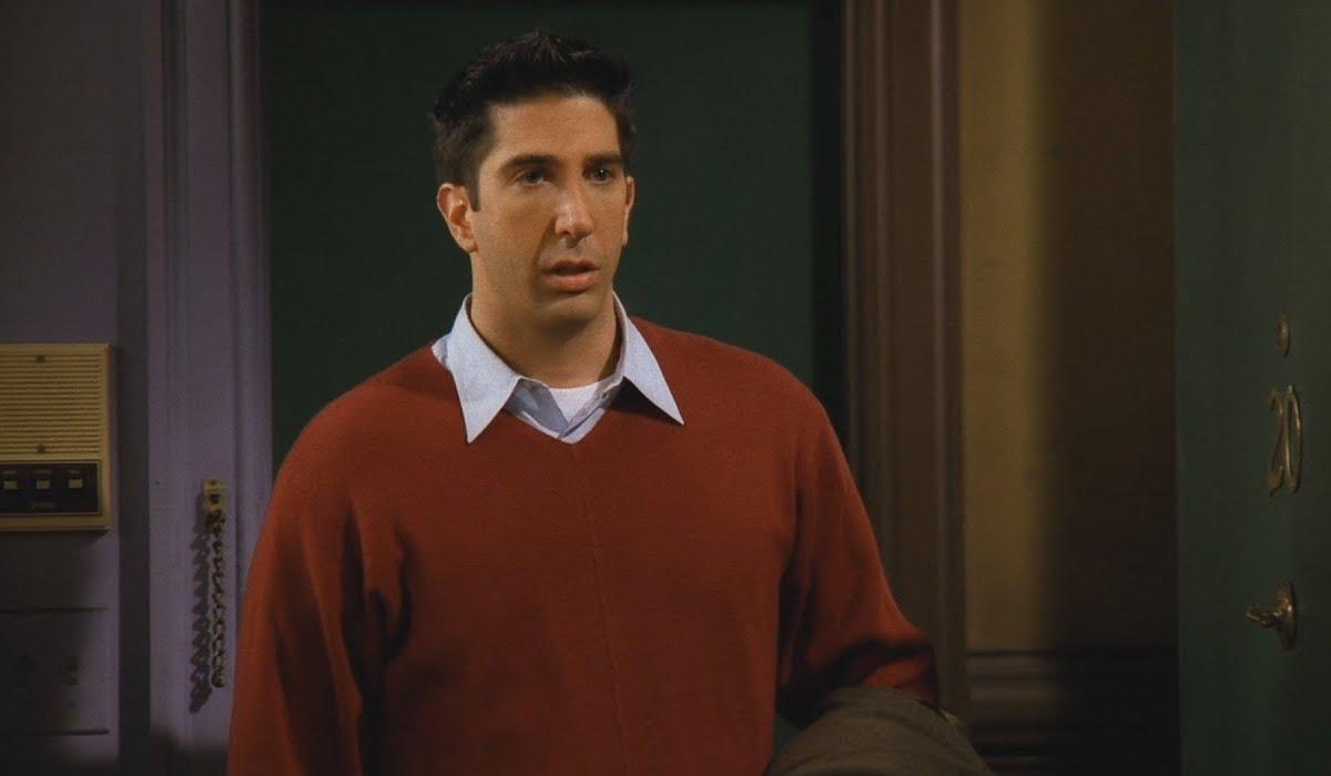 """Ross and Rachel """"Take A Break"""" On Friends"""