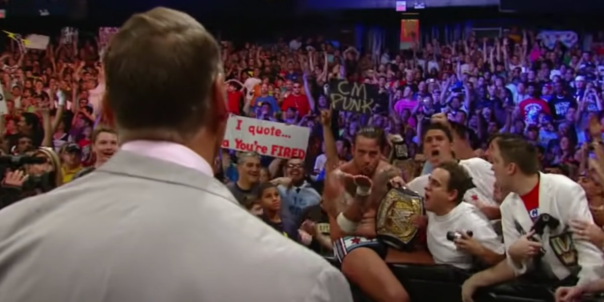 CM Punk at Money in the Bank 2011