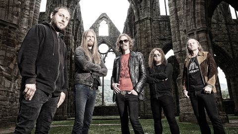 Opeth band photograph