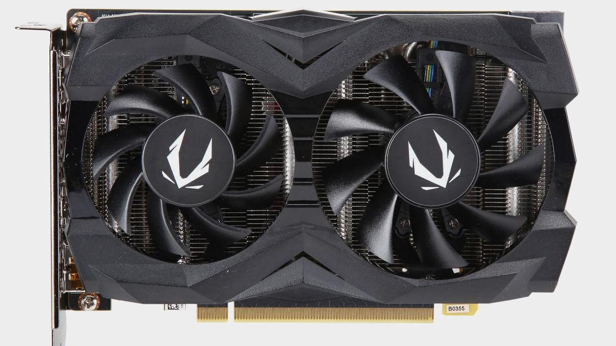 Zotac's dual-fan GTX 1660 graphics card is just $200 on Newegg