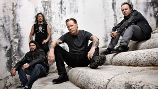 A press shot of Metallica from 2015