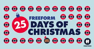 Freeform's 25 Days of Christmas.