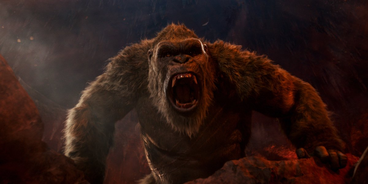 King Kong in the cave in Godzilla Vs. Kong