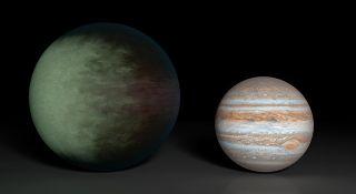 Clouds on Kepler Planet