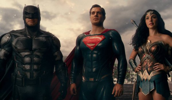Batman, Superman and Wonder Woman as The Justice League