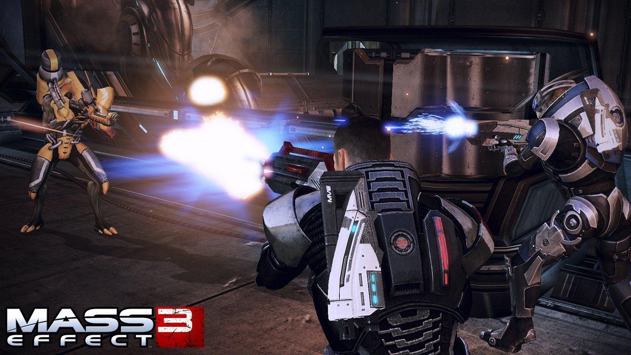 Mass Effect 3 Combat Rifle Screenshots #18863