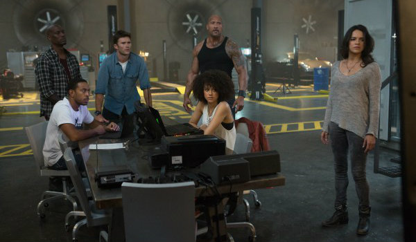 Fate of the Furious crew