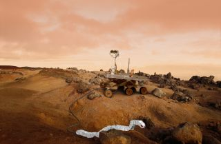 Snake Robots Could Aid Future Mars Rovers