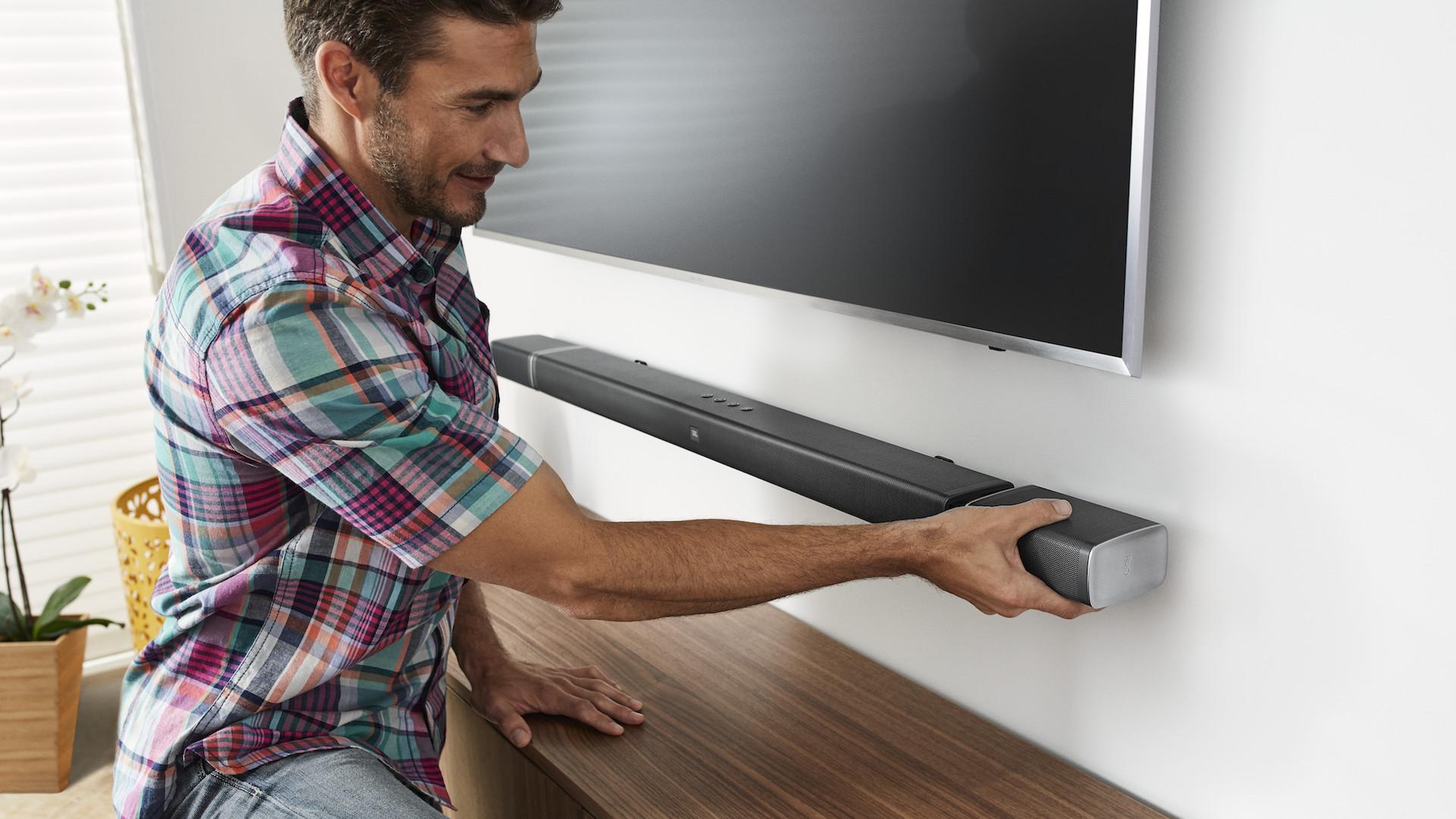 JBL Bar 5.1 soundbar transforms into a wireless surround cinema ...