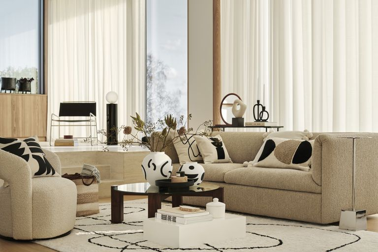 Beige living room ideas