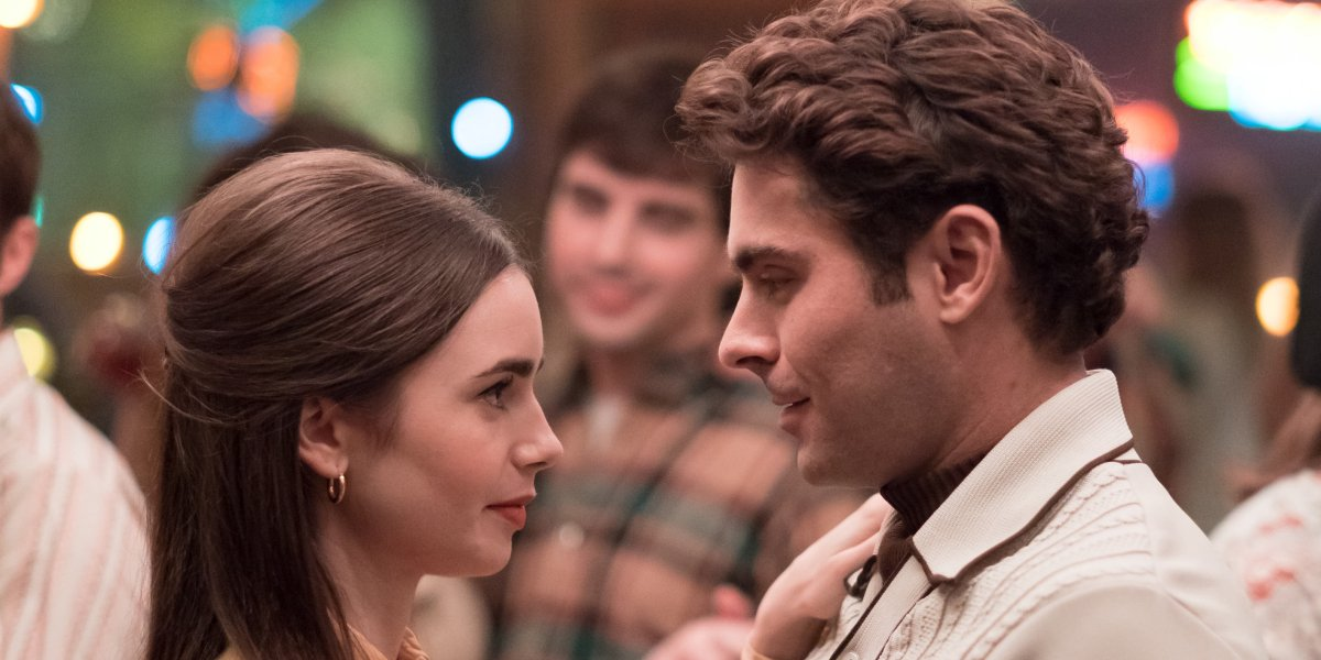 Lily Collins and Zac Efron in Extremely Wicked, Shockingly Evil And Vile