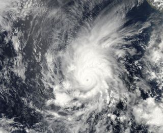 Hurricane Amanda in Eastern Pacific