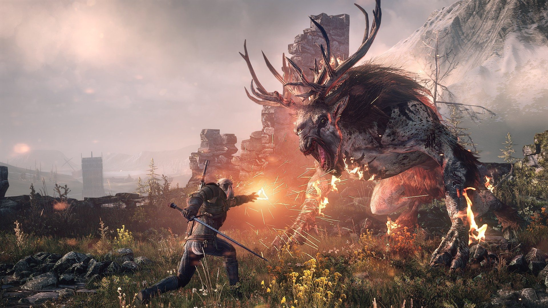 Best single player PC games: The Witcher 3: Wild Hunt