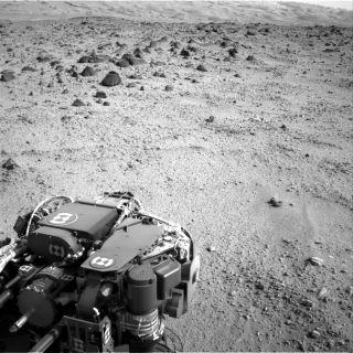Lower Slopes of Mount Sharp on Mars