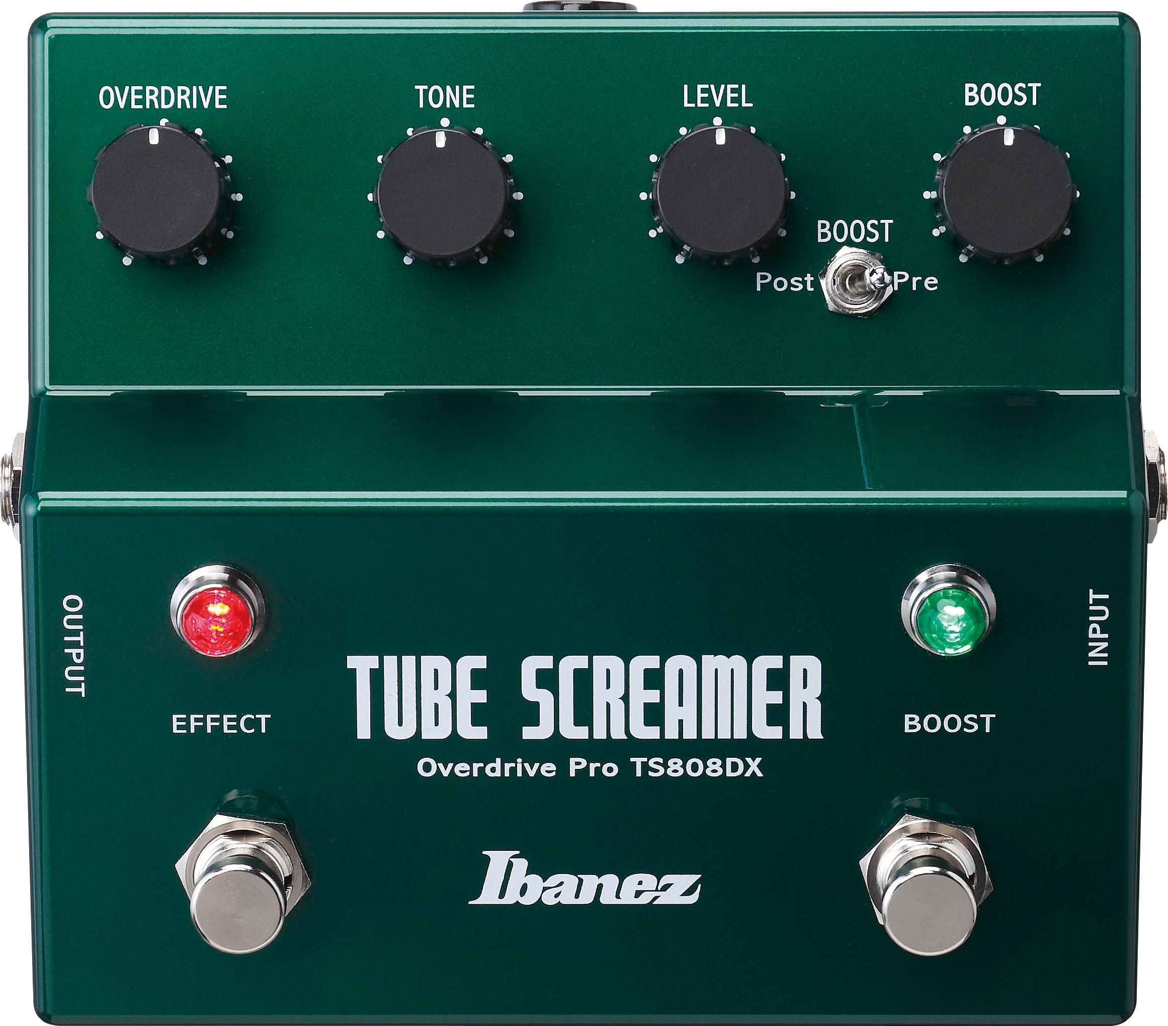 Ibanez TS-808 Overdrive Pro Tube Screamer Effektpedal