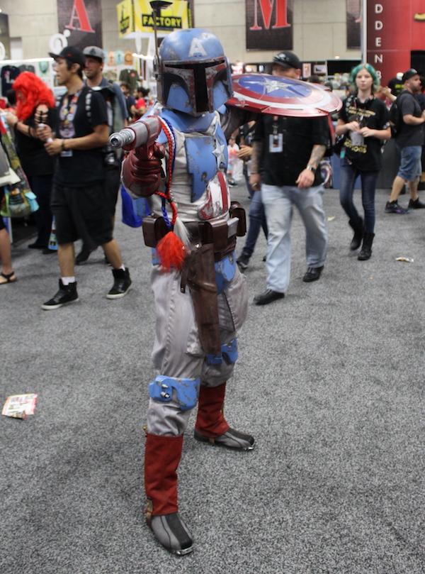 SDCC Costume boba fett america