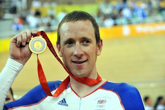 Bradley Wiggins, pursuit, Beijing 2008 Olympic Games