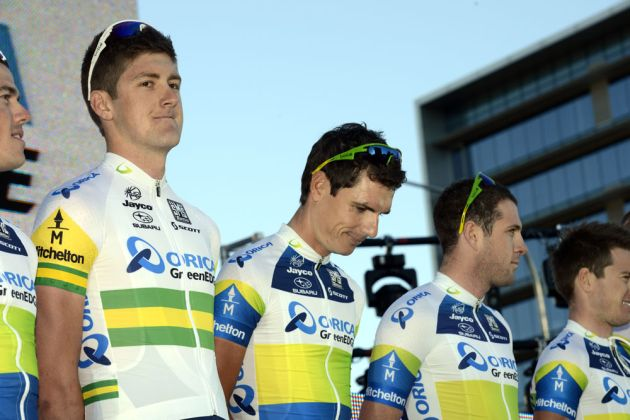 Luke Durbridge, Tour Down Under 2013, team presentation