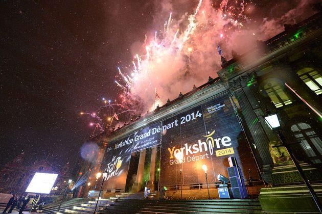 Fireworks, Tour de France 2014 Grand Depart launch
