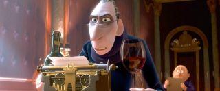 Anton Ego in Pixar's Ratatouille.