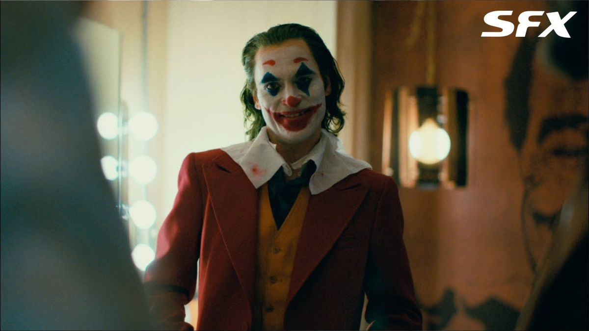 """Exclusive: Joaquin Phoenix compares the violence in Joker to Avengers: """"This is immediate and on-screen, and a little more visceral and raw"""""""