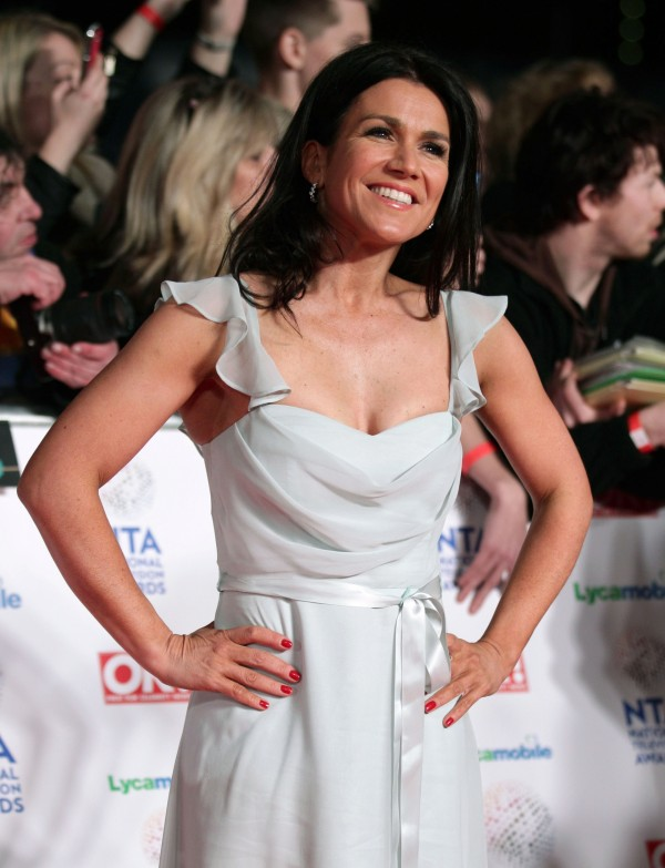 Susanna Reid at the 2014 National TV Awards (Yui Mok/PA)
