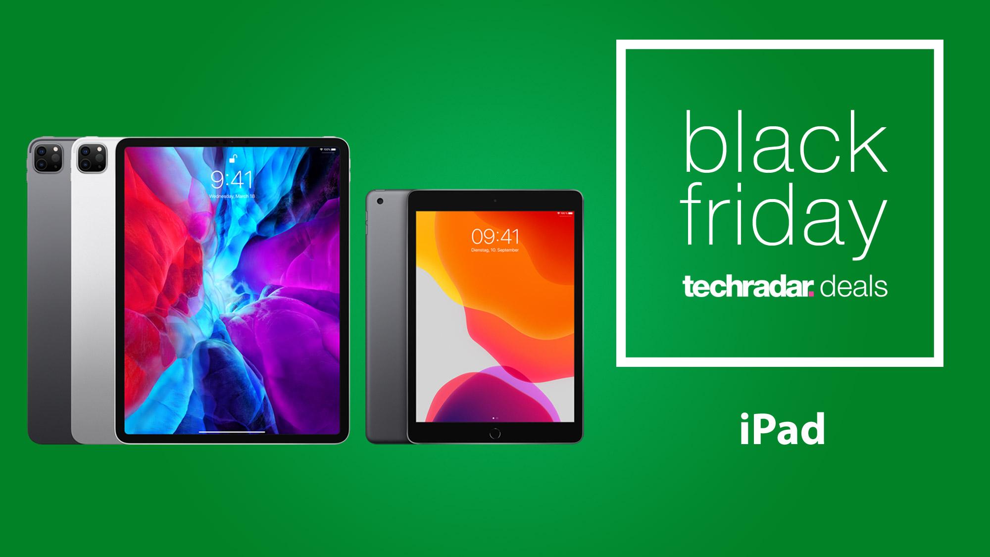Black Friday Ipad Deals 2020 Sales On Ipad Pro Air Mini And Standard Tablets Techradar