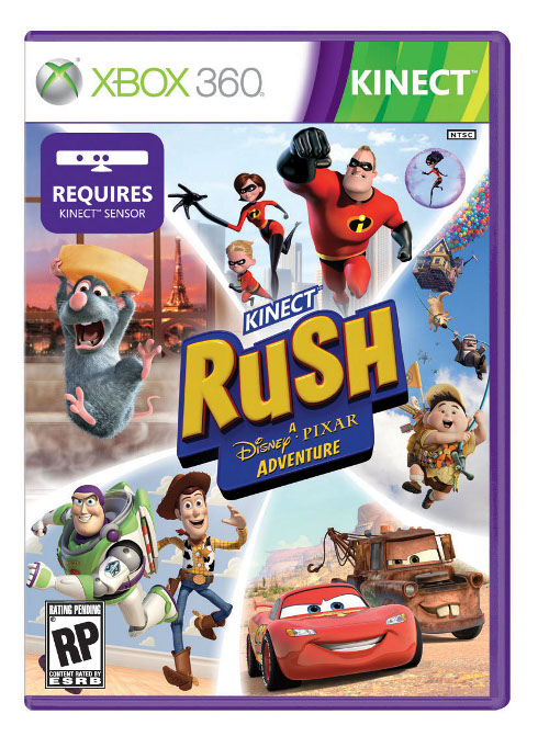 Kinect Rush: A Disney-Pixar Adventure Coming In March #19877