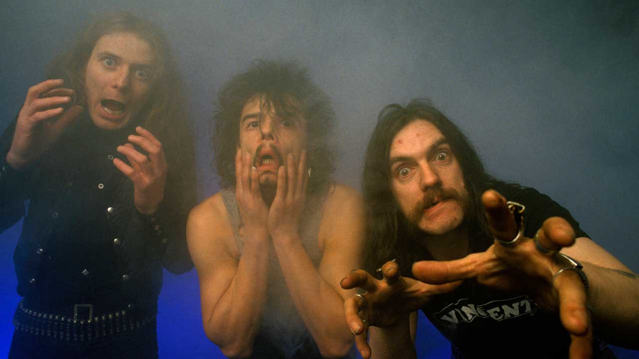 This is what it sounds like when you play all 265 Motorhead songs at the same time