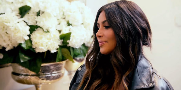 Kim Kardashian Keeping Up with the Kardashians leather jacket