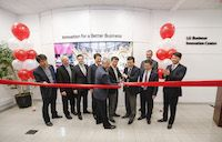 Celebrating LG's New Business Innovation Center