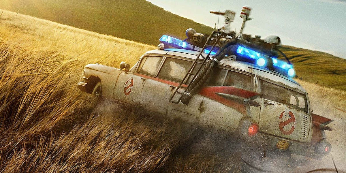 Ecto-1 in Ghostbusters: Afterlife