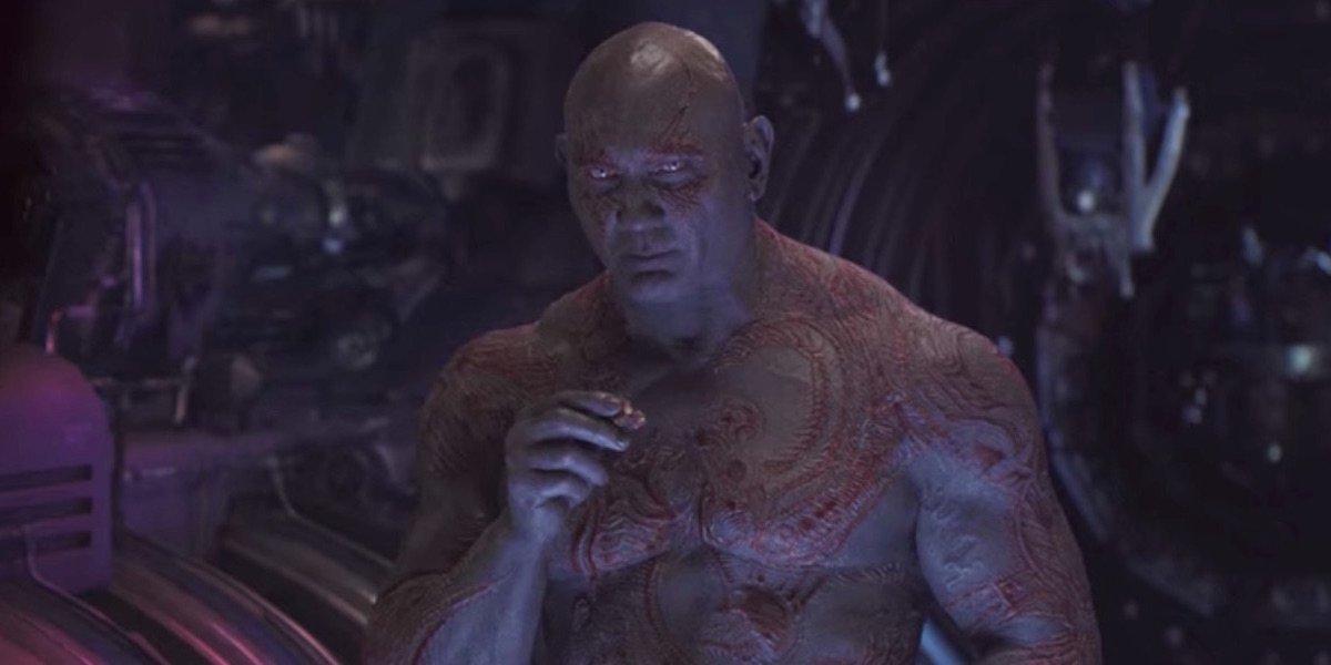 Drax in Avengers: Infinity War