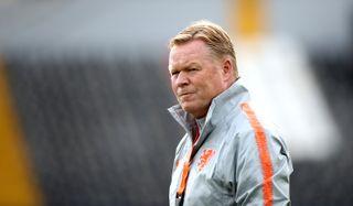 Netherlands squad walkaround and press conference – Estadio D. Afonso Henriques