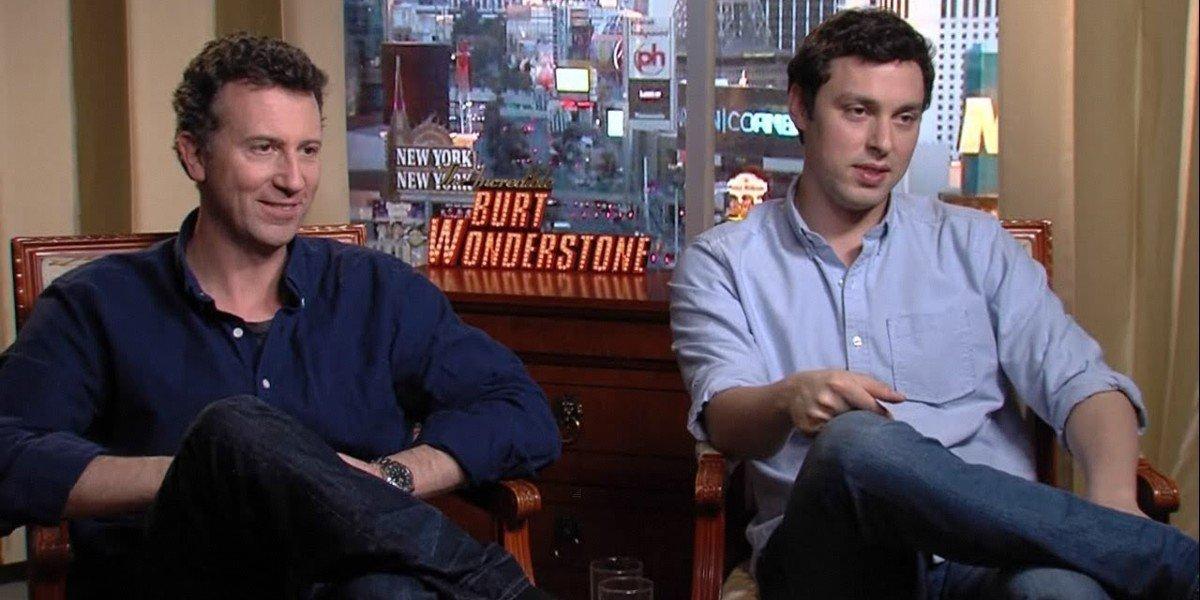 "YouTube: ""Jonathan Goldstein & John Francis Daley - The Incredible Burt Wonderstone Interview HD"""
