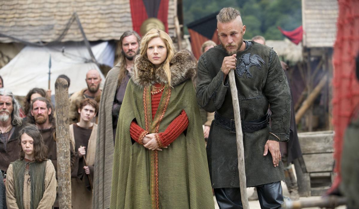 Vikings Rollo Clive Standen Lagertha Katheryn Winnick Ragnar Lothbrok Travis Fimmel History