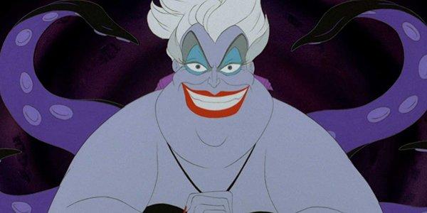 Ursula delighting in her plan